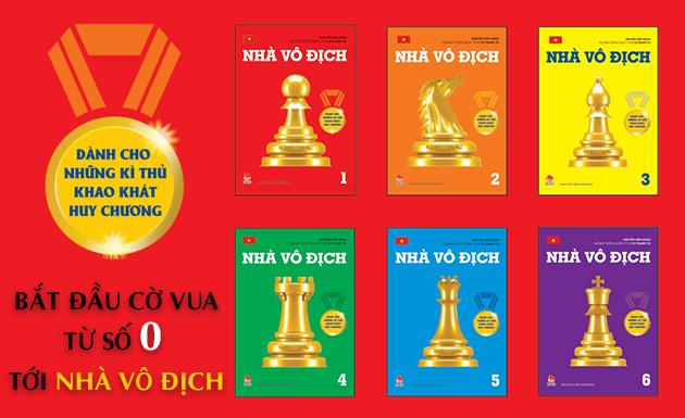 """Bộ sách cờ vua """"Nhà vô địch"""""""
